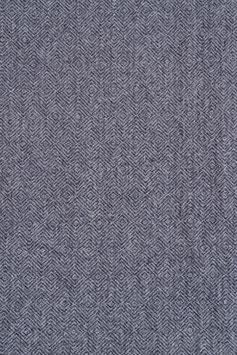 Designer Walkloden-Doubleface - grauer Walkloden in Fischgrätoptik (Grau-Anthrazit)