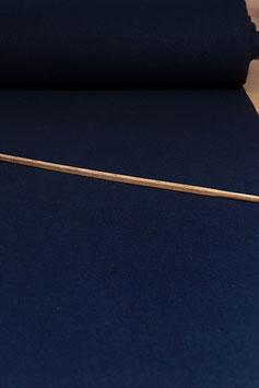 0,5 m - marineblauer Walkloden