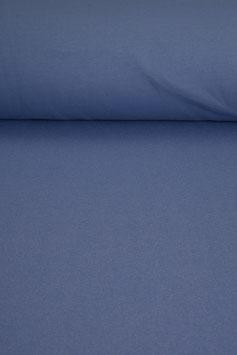 0,5 m - Woll-/Baumwolljersey - hell blau