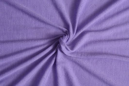 0,5 m - wool jersey lilac with knitted pattern