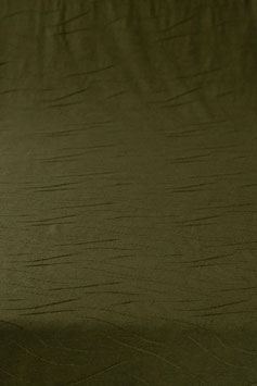 0,5 m - Noble designer wool jersey in wave optics - olive