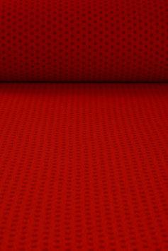 Walkloden aus Tirol weicher roter gepunkteter Designerwalk