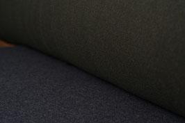 Designer Walkloden-Doubleface - weich, oliv-grau