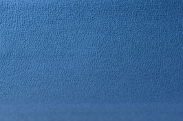Designer-Walkloden - Doubleface - Azur-Marine Blau