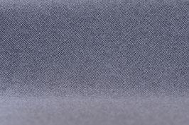 Designer Walkloden-Doubleface - graumelierter Walkloden (Grau-Anthrazit)