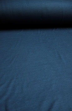 0.5 m - wool/cotton jersey - jeans blue