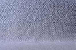 Designer Walkloden-Doubleface - graumelierter Walkloden - kleine Karos (Grau-Anthrazit)