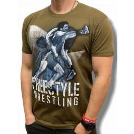 "T-Shirt ""Freestyle Wrestling"""
