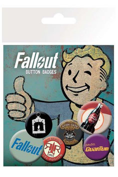 Fallout Ansteck-Buttons 6er-Pack Mix 2  278