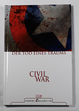 Marvel Exklusiv 70 Civil War: Der Tod eines Traumes HC Band /168