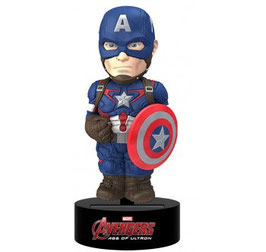 Marvel Avengers Age of Ultron - Body Knocker  Captain America von NECA   237