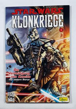 Dino Comics  Star Wars Sonderband 16 Klonkriege 1: Die Verteidigung von Kamino SC Band /162