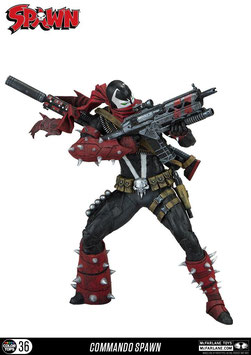 Spawn Color Tops Actionfigur Commando Spawn 18 cm Actionfiguren Spawn-205