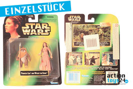 STAR WARS Princess Leia Collection - Princess Leia and Wicket the Ewock von 1997 - 050