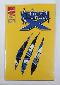 Marvel/Deutschland Weapon X #1 Special Claw Edition /177