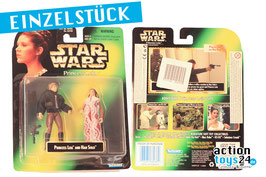 STAR WARS Princess Leia Collection - Princess Leia and Leila & Han Solo 1997 - 049