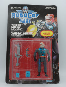 "Robo Cop and the Ultra Police ""Wheels Wilson"""
