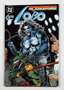 DC Comics Lobo Sonderband 5 Unamerican Gladiators SC Band /158
