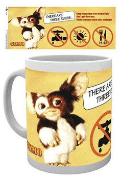 Gremlins Tasse Three Rules   248