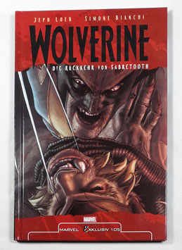 Marvel Exklusiv 105  Wolverine: Die Rückkehr von Sabretooth  HC Band /150