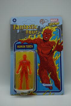 "Hasbro Marvel Legends 3,75-Zoll ""Retro Human Torch"" Welle 1 Kenner"