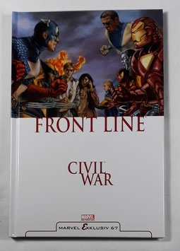 Marvel Exklusiv 67  Civil War: Front Line 1 HC Band /166