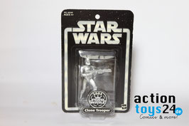 STAR WARS 2003 Silver Clone Trooper - 064