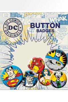 DC Comics Ansteck-Buttons 6er-Pack Villains   285