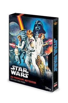 Star Wars Premium Notizbuch A5 A New Hope VHS