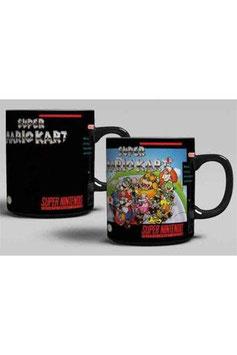 Super Nintendo Tasse mit Thermoeffekt Super Mario Kart  256