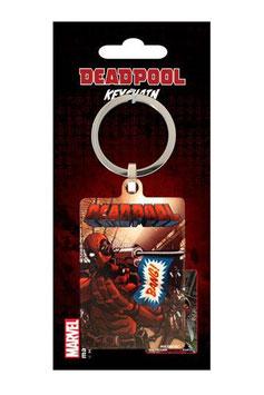 Deadpool Metall Schlüsselanhänger Bang 6 cm  264