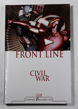 Marvel Exklusiv 69  Civil War: Front Line 2 HC Band /167