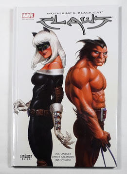 Marvel Wolverine&Black Cat Claws  HC Band /151