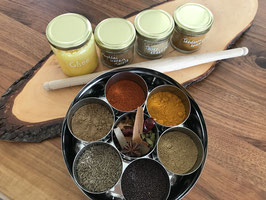"Starter Kit - For beginners - a simple yet useful Kit to ""kick-start"" your Indian cookery journey."