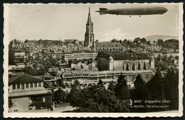 Luftschiff Graf Zeppelin über Bern