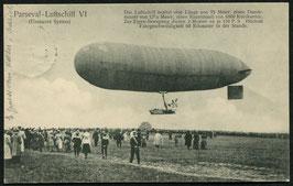 Parseval-Luftschiff VI beim Start