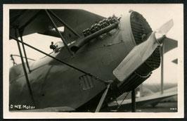AK Flugzeuge Detailansicht DH.V. Motor