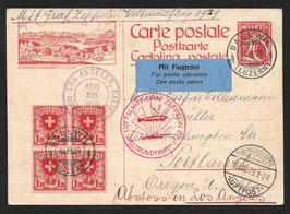 Zeppelin Weltrundfahrt 1929 Friedichshafen-Los Angeles
