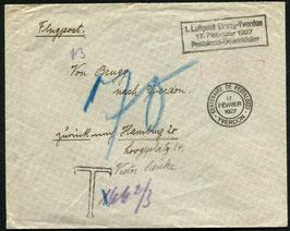 SF27.1    1927 Brugg - Yverdon anlässlich vom 100. Todestag von Heinrich Pestalozzi
