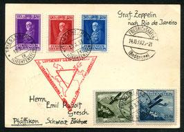 14.10./2.11.1933   Chicago-Dreiecksfahrt Fr'hafen - Pernambuco mit Anschlussflug Rio AKSt. 18.10.1933