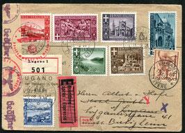 Historische Bilder 11.9.1944 Campione nach Lugano nachher Weiterleitung nach Bietigheim, Deutschland