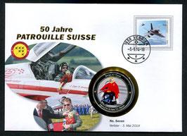 Number seven, Verbier, 3. Mai 2014 --- 50 Jahre Patrouille Suisse