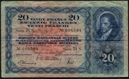 Das 20er Nötli   -  Schweiz