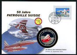20 Jahre in den Schweizer Farben, Emmen, 21. September 2011 --- 50 Jahre Patrouille Suisse