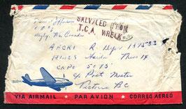 8.4.1954 T.C.A., North Star, Montreal - Vancouver Nierinck 540408A