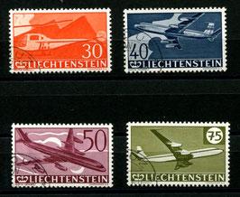 7.4.1960 30 Jahre Flugpostmarken in Liechtenstein