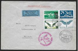 1.8.1936 Olympia-Fahrt 1936 Abwurf Berlin