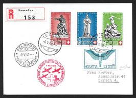 9.5.1940 Nat. Spende + Rotes Kreuz