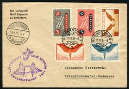18.8.1931 Zeppelin England-Fahrt, Landung in London