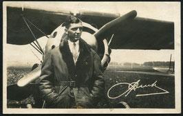 AK Alfred Comte, Chef Pilot der Ad Astra